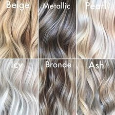 Which hair colour do you like the most? – Vicky Schwarz Which hair colour do you like the most? Which hair colour do you like the most? Icy Blonde, Blonde Hair With Highlights, Ash Blonde Hair, Blonde Balayage, Pearl Blonde, White Highlights, Pearl Hair, White Hair With Lowlights, Balayage Vs Highlights