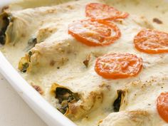 """""""Spinach and Mushroom Crepes"""" from Cookstr.com #cookstr"""