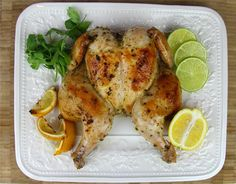 Caribbean style oven roasted chicken. Click for the full recipe with video tutorial.