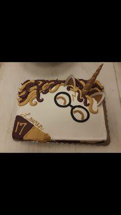 Harry Potter Wizard Unicorn Sheet Cake