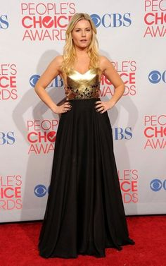 Does this dress worn by Elisha Cuthbert at the People's Choice Awards look familiar? If you were at Toronto Fashion Week, it should.Canadian sweetheart, Cuthbert,...