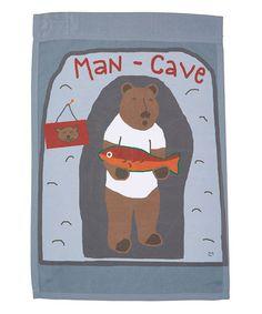 Love this 'Man Cave' Flag on #zulily! #zulilyfinds