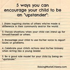 5 ways to be an upstander