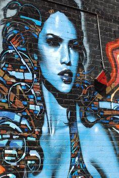 Street Art Lady