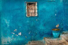 murs bleus éloigner les mauvais esprits!