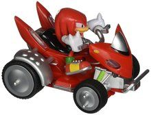 Sonic All Stars Racing Knuckles The Echidna Vehicle Figure