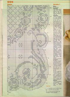 Scheme crochet no. 1130   Kira scheme crochet