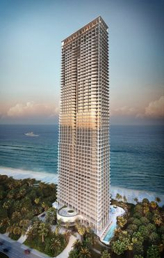 Herzog & de Meuron's Jade Signature residential tower for Miami