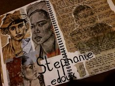 Stephanie Ledoux artist research page.