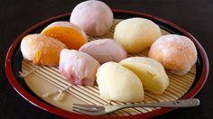 Mochi Ice Cream (Yukimi Daifuku) 雪見だいふくを作ってみた♪ (餅アイス) - OCHIKERON - CREA...