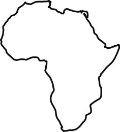 Blank Outline Map Of Africa Assignment Party Planning