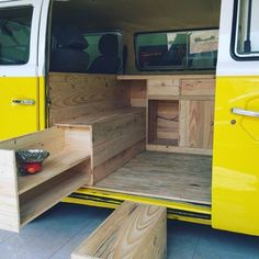 Beautiful 46 popular interior design and decor ideas for motorhome. More about . - Beautiful 46 popular interior design and decor ideas for motorhome. More about the decor …, - Truck Camper, Kombi Camper, Kombi Home, Camper Life, Diy Van Camper, Camper Van Kitchen, Interior Kombi, Interior Trailer, Interior Design