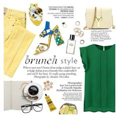 """Brunch style"" by punnky ❤ liked on Polyvore featuring Liberty, Galliano, Dolce&Gabbana, ANNA, Aesop, Vagabond, Chanel and Forever 21"