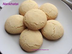 Nankhatai…melt-in-the-mouth Indian cookies