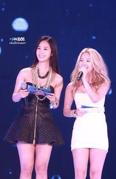 SNSD YuRi and HyoYeon