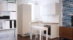 30 m2 entièrement repensés pour une petite famille Loft, Paris Arrondissement, Corner Desk, Small Spaces, Cabinet, Storage, Table, Furniture, Parental