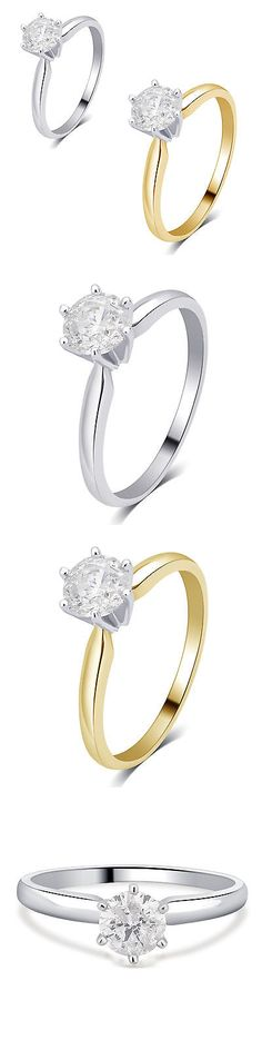 Other Engagement Rings 164308: Divina 14K Gold 1 4Ct Tdw Igl Certified Diamond Solitaire Engagement Ring Comes -> BUY IT NOW ONLY: $264.59 on eBay!