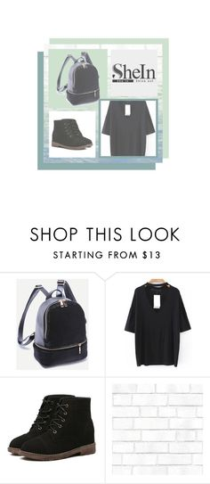 """""""shein"""" by mediva-284 ❤ liked on Polyvore featuring Tempaper and Art Classics"""