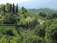 Asolo, in the province of Treviso, Veneto region, is a town which preserves a medieval look.