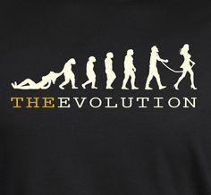 Evolution of Man Funny Humor Feminism Girls S - 5XL  + Long Sleeve #SOLS #BasicTee