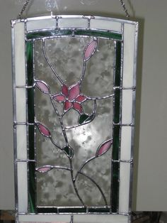 Stained Glass Window Panel.  via Etsy.