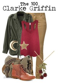 """""""Clarke Griffin"""" by charlizard ❤ liked on Polyvore featuring MKT studio, Wilt, Social Anarchy, Lucky Brand, women's clothing, women, female, woman, misses and juniors"""