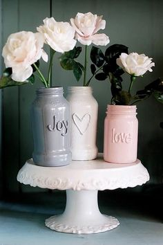 Glass - Glue - Paint Let the spring begin <3