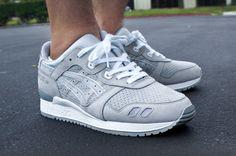 Grey Tones Asics Gel Lyte III's #sneakerhead #summerfresh