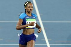 ALLYSON FELIX: USA'S MOST DECORATED TRACK AND FIELD ATHLETE IN HISTORY.