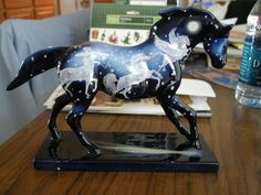 """""""Stardust"""" from the Trail of Painted Ponies. Indian Horses, Tack Shop, Little Cowgirl, Trail Of Tears, Horse Paintings, Pony Horse, Painted Pony, Carousel Horses, Baby Kittens"""