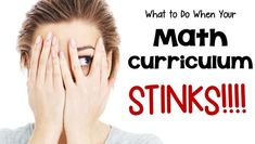 What can a teacher do when the resources your district provide STINK???  This blog post details your options and the pros and cons of each choice.