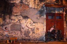 Ernest Zacharevic - Malaysian street art