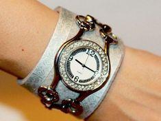Do It Yourself: Uhrenarmband selber machen. DIY-Anleitung via DaWanda.com