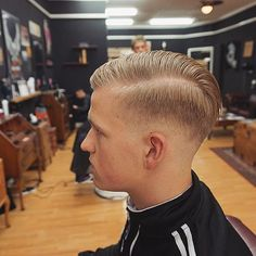 dutchwim:  Cut by @grantggeorge  Styled using @uppercutdeluxe  #badlandsbarber #barbershop #barberlife #barber #scottishbarber #scottishbarbers #traditionalbarbershop #traditionalbarber #traditional_barbers #slickanddestroy #uppercutdeluxe #pomade #perth #scotland