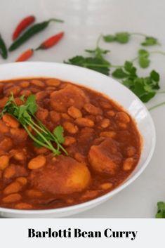 Gadra (Borlotti) Bean Curry
