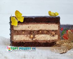VK is the largest European social network with more than 100 million active users. Torte Cake, Pastry Shop, Mousse Cake, French Pastries, Pastry Recipes, Easy Cake Recipes, Confectionery, Different Recipes, Amazing Cakes