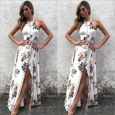 Davida - Boho Floral Dress