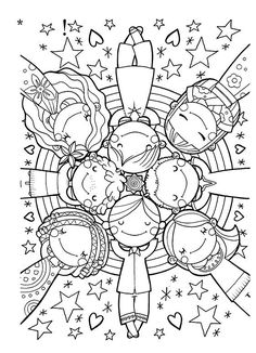 Drawing For Kids Ideas Coloring Books Ideas Coloring Book Pages, Printable Coloring Pages, Coloring Sheets, Free Coloring, Coloring Pages For Kids, Kids Coloring, Drawing For Kids, Art For Kids, Doodles