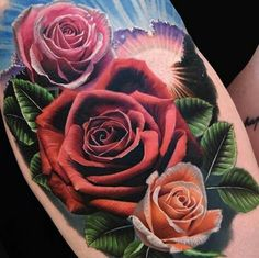 im so in love with this! realistic roses