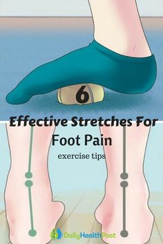 Get Rid of Foot Pain in Minutes With These 6 Effective Stretches after workout #exercise#tips