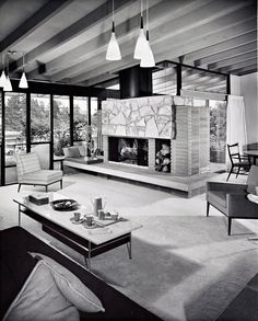The Haddad House located in Los Angeles, California. Designed by architect David Hyun and built in 1958. Photo: Shulman / Getty.