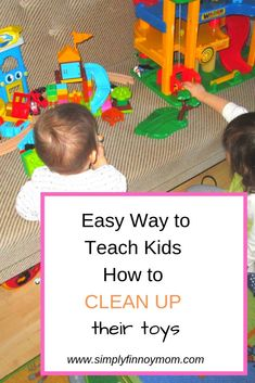 Do you know that there is an easy way to teach kids how to clean up their toys after playing? Lego Kingdoms, Messy Room, Toddler Age, Toy Collector, All Toys, Our Kids, Clean Up, Teamwork, Teaching Kids