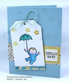 Spring Baby Card CCREW417SIP