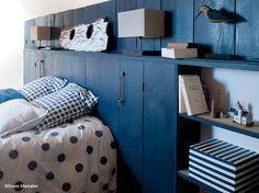 Déco inTérieur BLeu et Gris   ... Chambre En Bleu Et Gris   Idées Accueil - Architecture d'intérieur