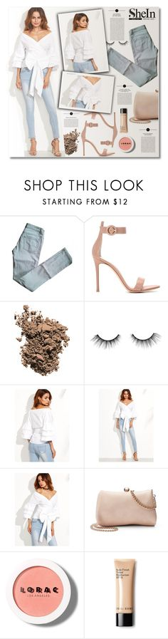 """Love is swinging in the air tonight"" by sunshineb on Polyvore featuring Maje, Gianvito Rossi, Dolce&Gabbana, tarte, WithChic, LC Lauren Conrad, Oris and LORAC"