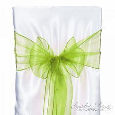 Stuha organza šalvěj - Organzové stuhy - Stuhy - Půjčovna svatebních dekorací - Svatební-potahy