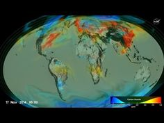 Watching the Earths CO2 move through the atmosphere. But what will we do when the earth can't sustain it anymore?