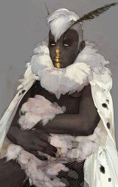Veenessa Illustrious: Fuss & Feathers