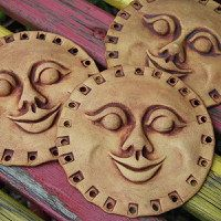Zboží prodejce keramika monka / Zboží | Fler.cz Coins, Personalized Items, Women, Sun Moon, Rooms