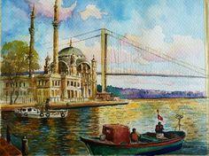 ortakoy camii in istanbul. #bosphorus #mosque